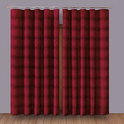 Комплект штор Primavera №1110068, бордовый (zk-100063), фото 1