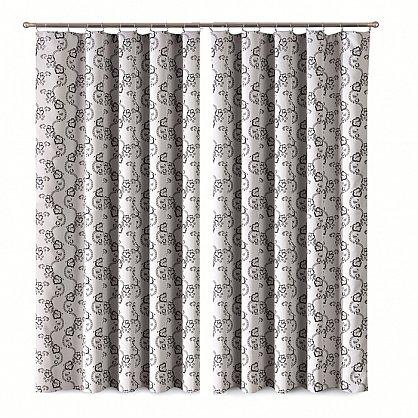 Комплект штор Primavera №1110078, серый (zk-100066), фото 1