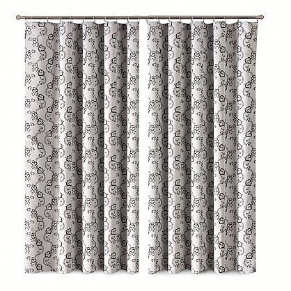 Комплект штор Primavera №1110079, серый (zk-100067), фото 1