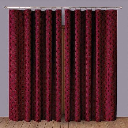 Комплект штор Primavera №1110085, бордовый (zk-100072), фото 1