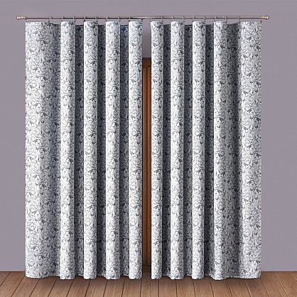 Комплект штор Primavera №1110172, серый (zk-100084), фото 1