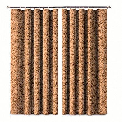 Комплект штор Primavera №1110173, коричневый (zk-100085), фото 1