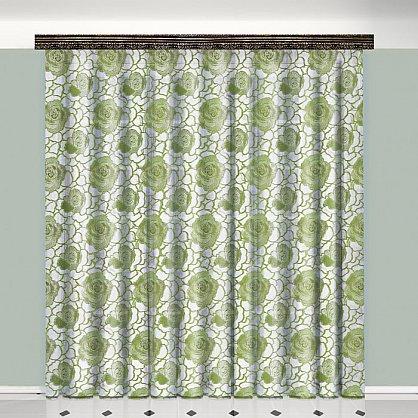 Тюль №777038, зеленый (zk-100097), фото 1