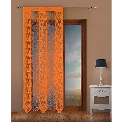 Кисея нитяная штора Jga, оранжевый, 100*250 см (zk-102176), фото 1