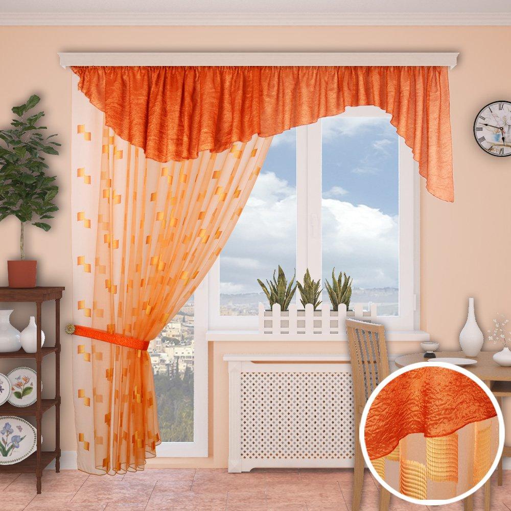 Дизайн штор для кухни с балконом фото