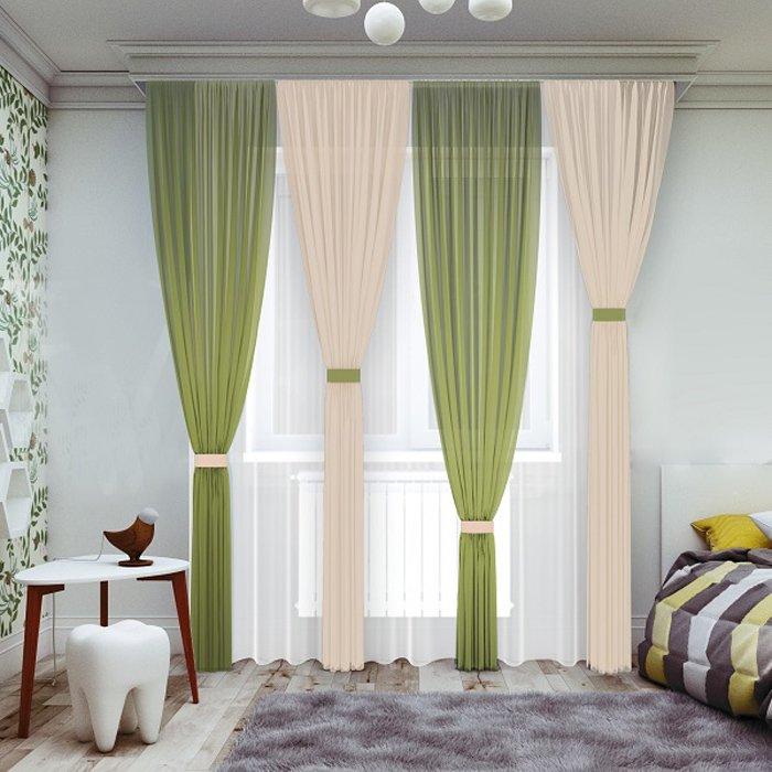 цветные шторы в спальню фото это парном катании