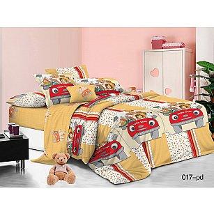 КПБ Поплин детский Веселая компания (1.5 спальный)