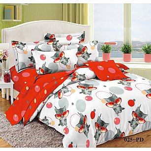 КПБ Поплин детский Киски (1.5 спальный)