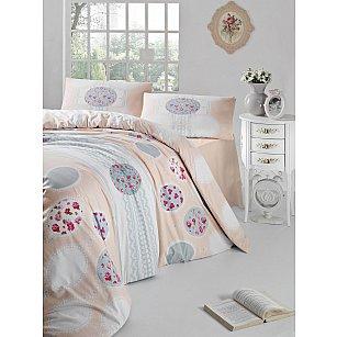 """Комплект постельного белья """"RANFORCE BELIN"""" (2 спальный), кремовый"""