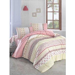 """Комплект постельного белья """"RANFORCE JUSTO"""" (2 спальный), желтый"""