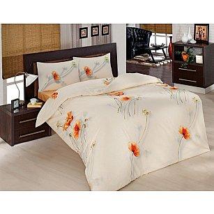 """Комплект постельного белья """"RANFORCE NAZENIN"""" (2 спальный), кремовый"""