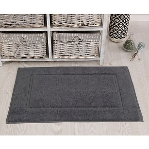 """Махровое полотенце для ног """"KARNA GREN"""", серый, 50*70 см"""