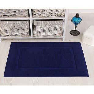 """Махровое полотенце для ног """"KARNA GREN"""", синий, 50*70 см"""