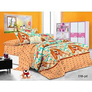 КПБ Поплин детский Бассет (1.5 спальный)