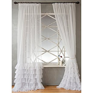 Комплект штор НОА, белый