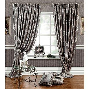 Комплект штор LOUVRE, серый