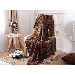 Плед вязанный Tango Leopardo дизайн 01, 140*190 см
