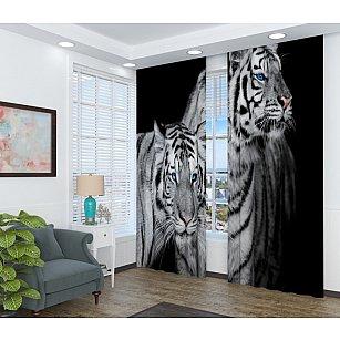 "Фотошторы ""Два тигра"""
