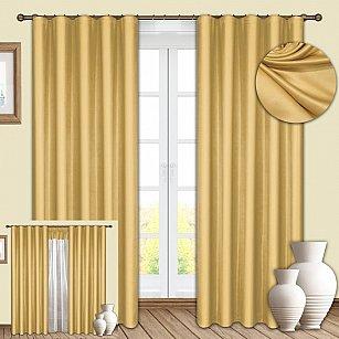 Комплект штор №086 Золото