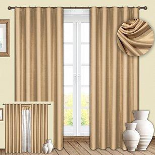 Комплект штор №086 Ваниль