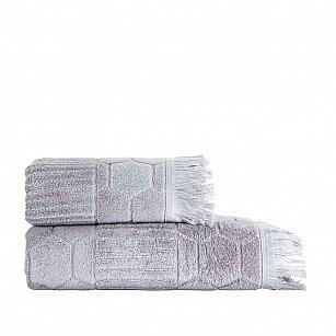 Полотенце жаккард Arya Frew, серый