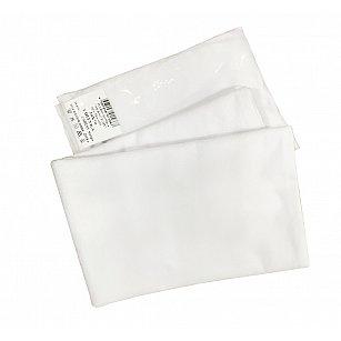 Наволочка махра Аквастоп, белый, 70*70 см