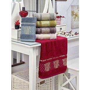 Комплект бамбуковых полотенец TWO DOLPHINS ELIT, 50*90 см - 6 шт