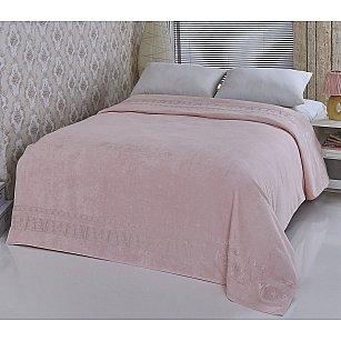 """Простынь бамбуковая """"PUPILLA ELIT"""" в коробке, розовый, 200*220 см"""