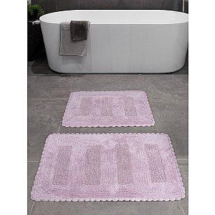 """Набор ковриков для ванной """"KARNA LENA"""" (50*70; 60*100), лавандовый"""