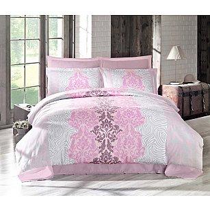 Комплект постельного белья ALTINBASAK VIVID Сатин (2 спальный), розовый