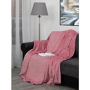 "Плед TexRepublic Elite ""Узоры"", розовый, 200*220 см"