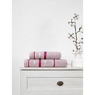Полотенце махровое TexRepublic Cotton Line, фиолетовый, 50*90 см
