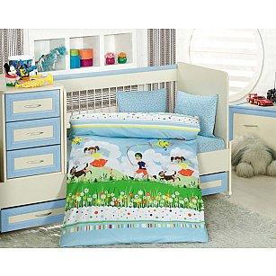 Комплект постельного белья Altinbasak TINI MINI (Новорожденный)