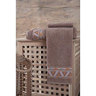 "Полотенце махровое ""KARNA GIZA"", коричневый"