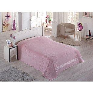 """Простынь махровая """"PUPILLA SORTI"""" в коробке, грязно-розовый, 200*220 см"""