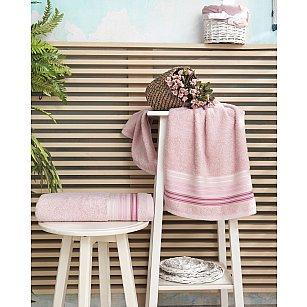 "Полотенце махровое ""KARNA PAULA"", розовый"