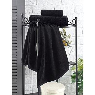 """Полотенце махровое """"KARNA EFOR"""", черный"""