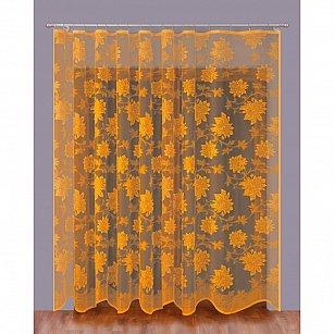 Тюль Primavera №111016-3, золотой