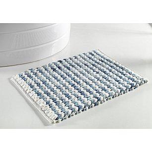 """Коврик для ванной """"KARNA AQUA"""", голубой, 50*80 см"""
