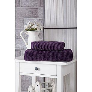 """Полотенце махровое """"KARNA LINDA"""", фиолетовый"""