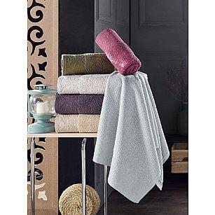 Комплект махровых полотенец DO&CO ZARIA, 50*90 см - 6 шт