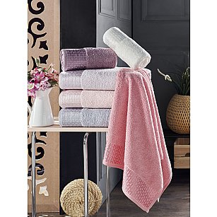 Комплект махровых полотенец DO&CO LIDYA, 50*90 см - 6 шт