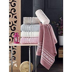 Комплект махровых полотенец DO&CO MOTIF, 50*90 см - 6 шт