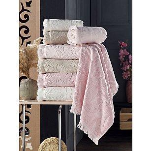 Комплект махровых полотенец DO&CO OSMANLI, 50*90 см - 4 шт