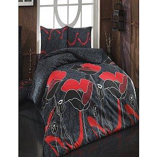 КПБ Cotton Life Juliet (70*70/2 шт), красный ( 1.5 спальный)
