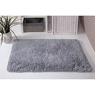 """Коврик для ванной """"MODALIN BOLIV"""", серый, 50*80 см"""