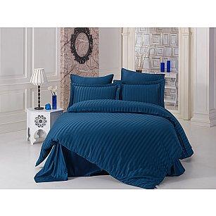 """КПБ бамбук """"KARNA PERLA"""" (2 спальный), синий"""