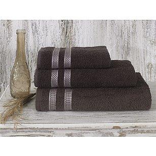 """Полотенце махровое """"KARNA PETEK"""", коричневый"""