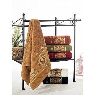 Комплект махровых полотенец PHILIPPUS SLOW COTTON GREEK SHIP, 50*90 см - 6 шт