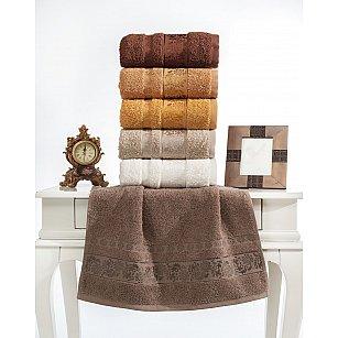 Комплект махровых полотенец TWO DOLPHINS ILAYDA, 50*90 см - 6 шт